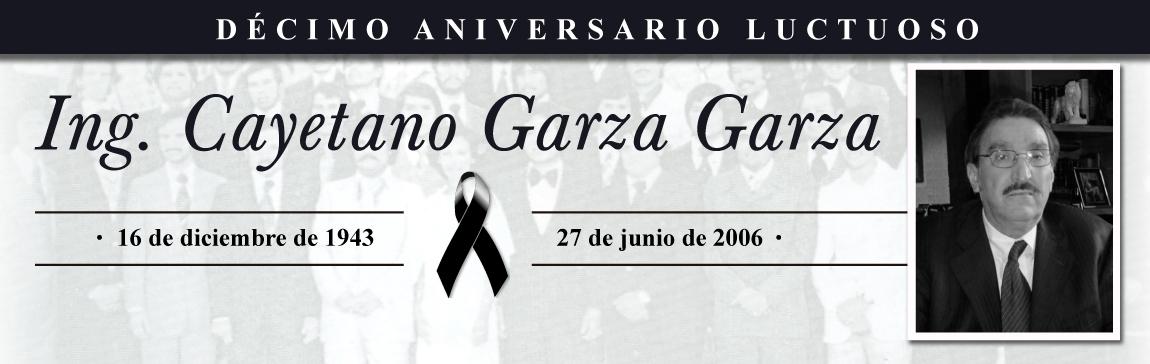 Décimo Aniversario Luctuoso Del Ing Cayetano Garza Garza Facultad